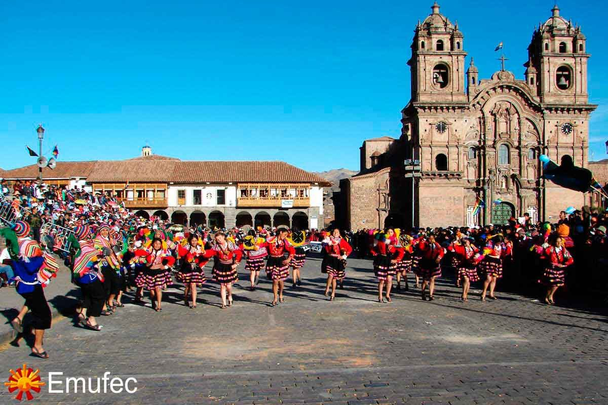 Parades and Dances in Cusco