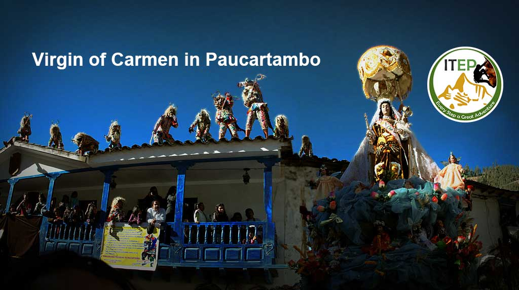 Virgin of Carmen in Paucartambo