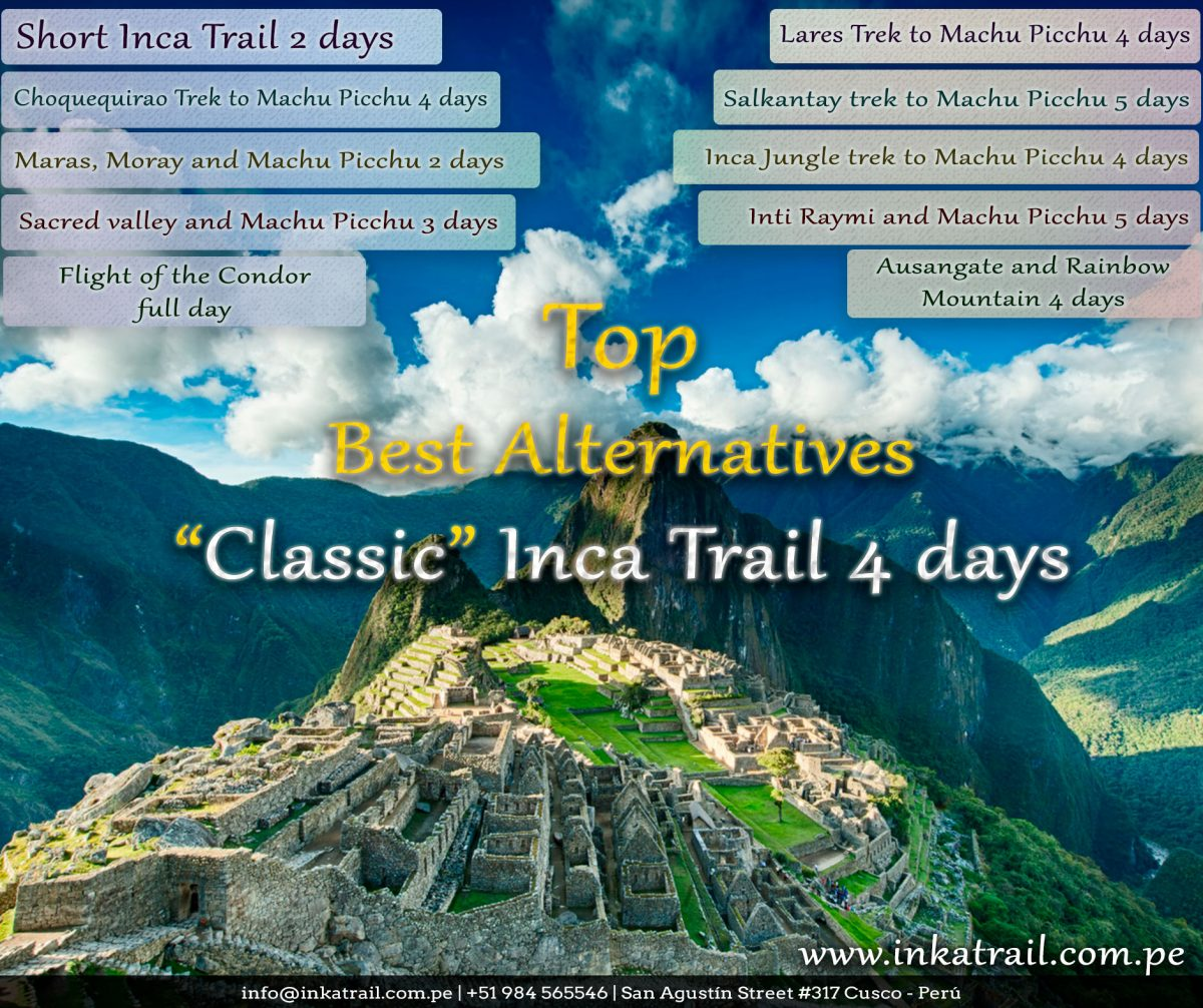 TOP BEST ALTERNATIVES – CLASSIC INCA TRAIL 2018
