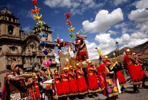 Inti raymi at Sacsayhuaman - Cusco festivity