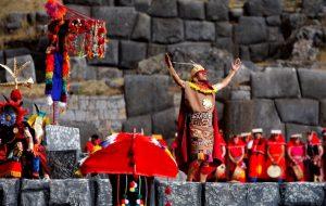 Inti Raymi on the main square - Cusco festivity