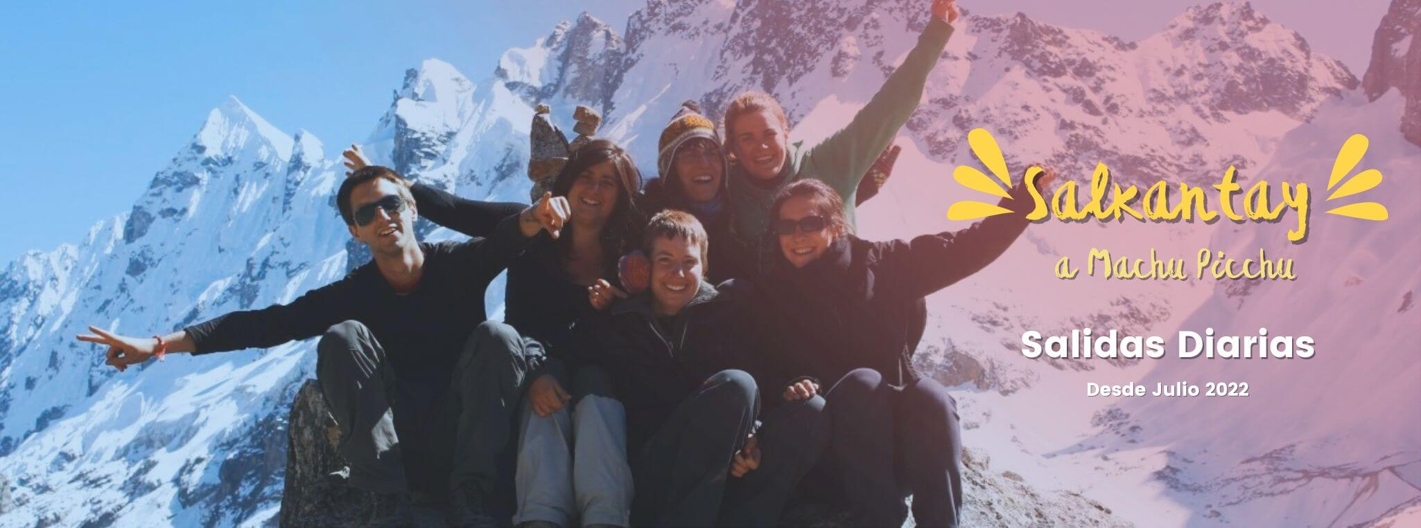 Classic Salkantay Trek to Machu Picchu in 5 days