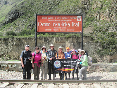 Inca Trail in 4 Days - Km 82