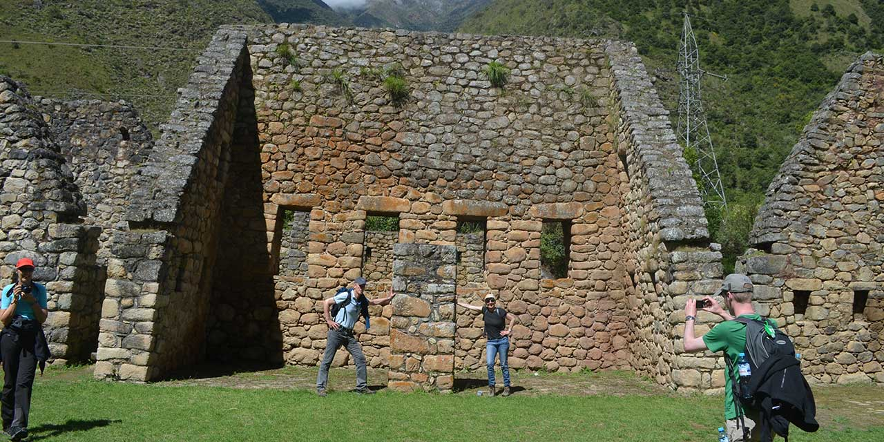 Inca Trail 3 days - Chachabamba