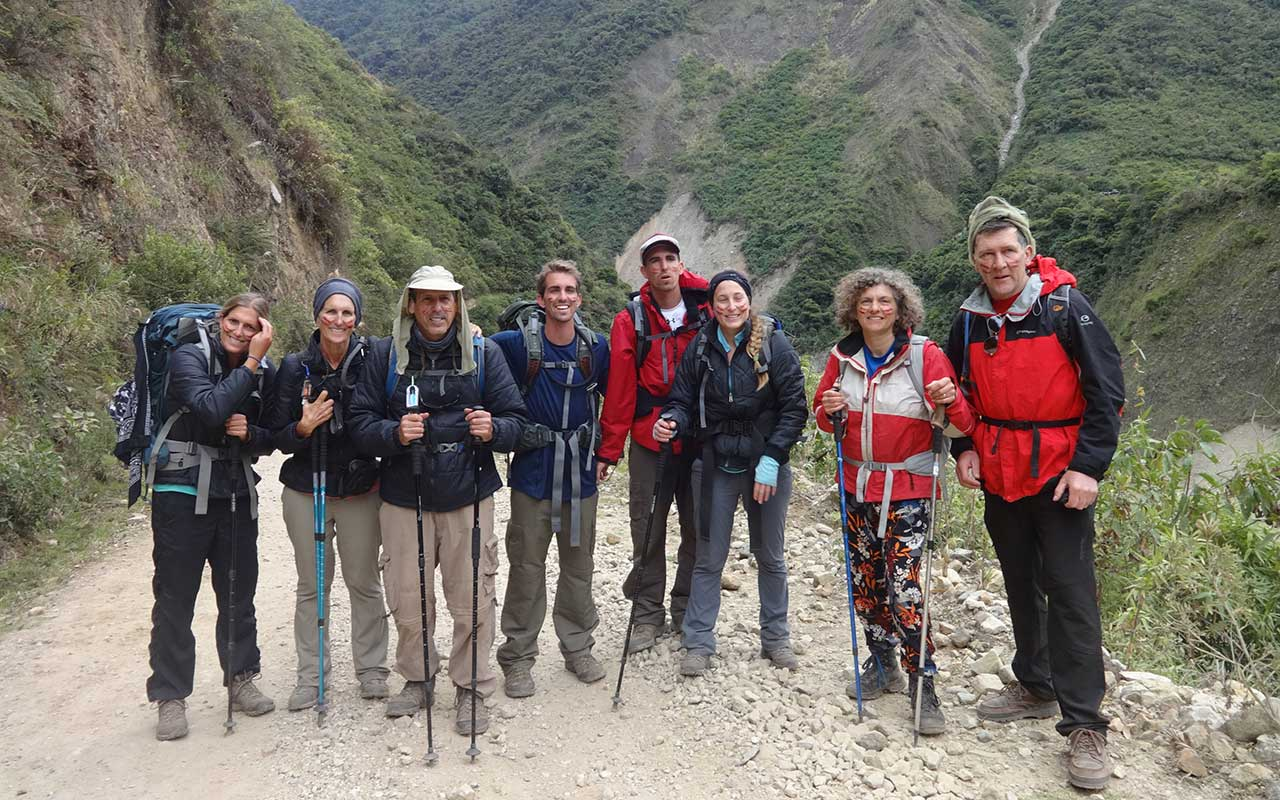 Lucmabamba - Salkantay Trek to Machu Picchu in 5 days