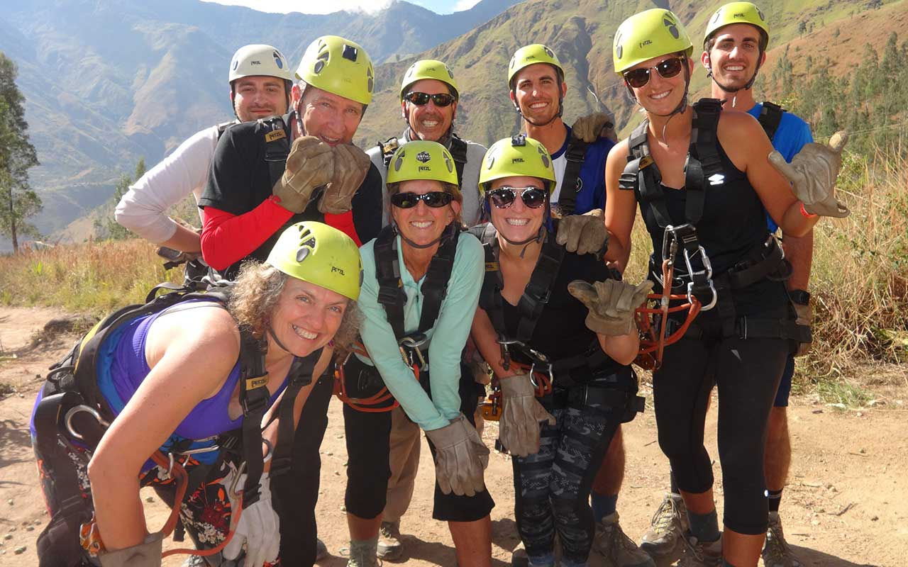 Ziplining - Canopy - Cola de Mono - Salkantay Trek to Machu Picchu in 5 days