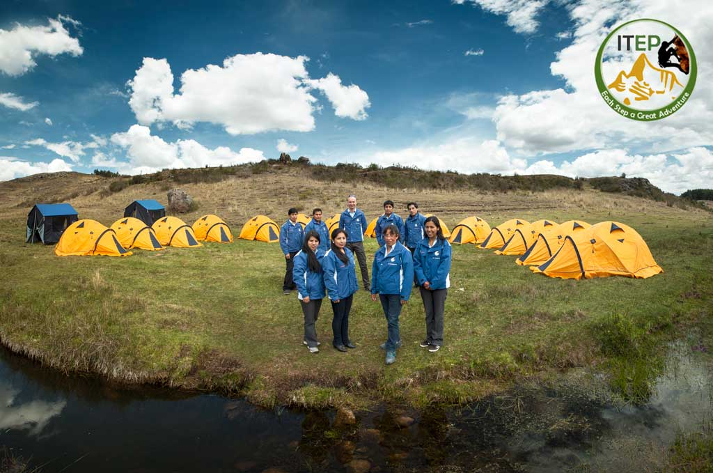 Team of Inca Trail Expeditions Peru