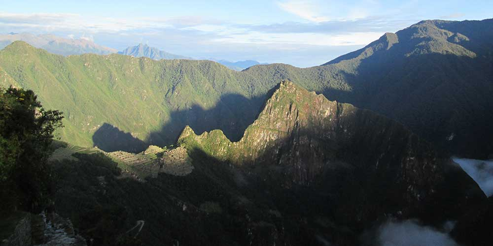 Inca Trail to Machu Picchu sunrise
