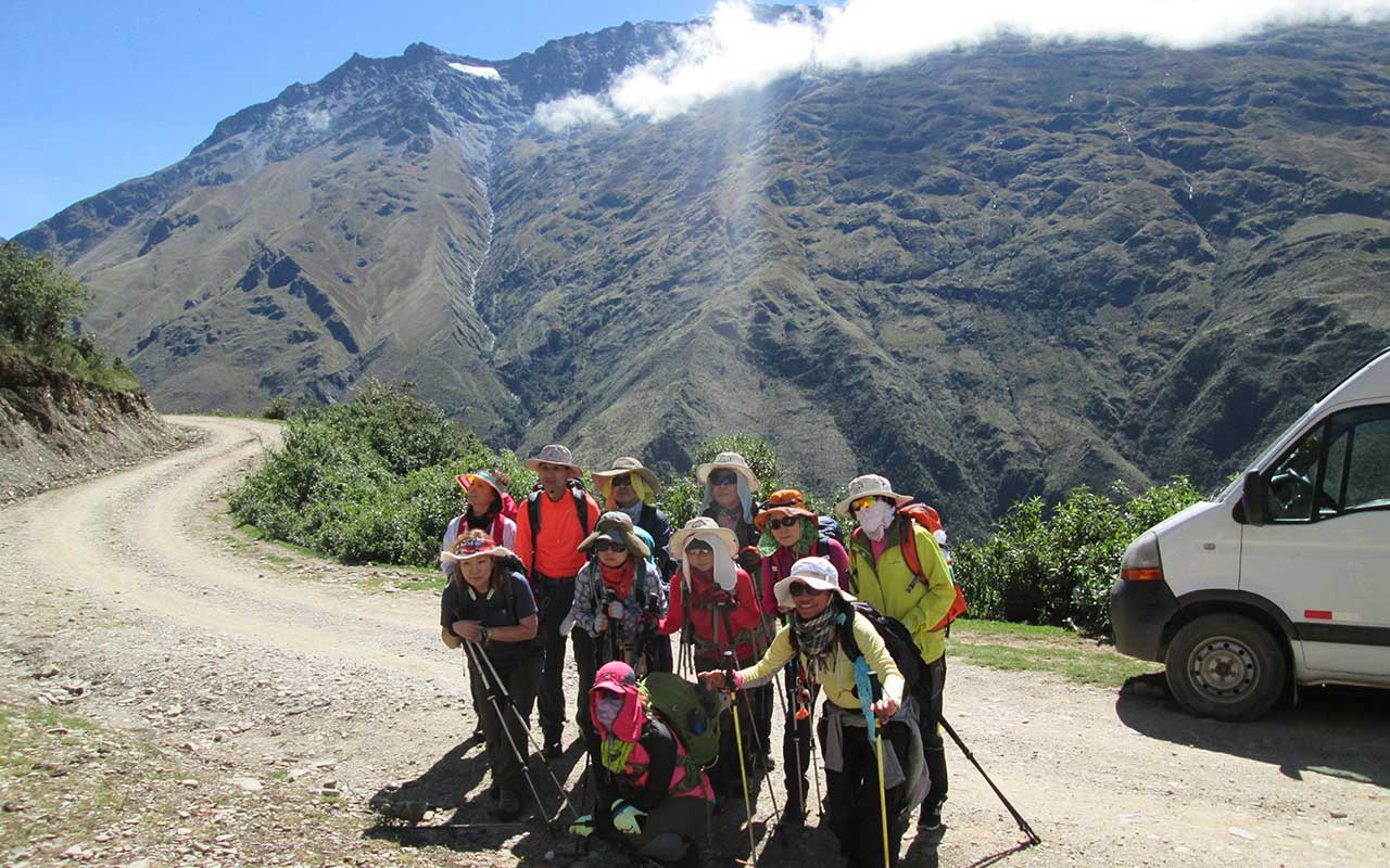 Challakancha - Salkantay Trek to Machu Picchu in 4 days