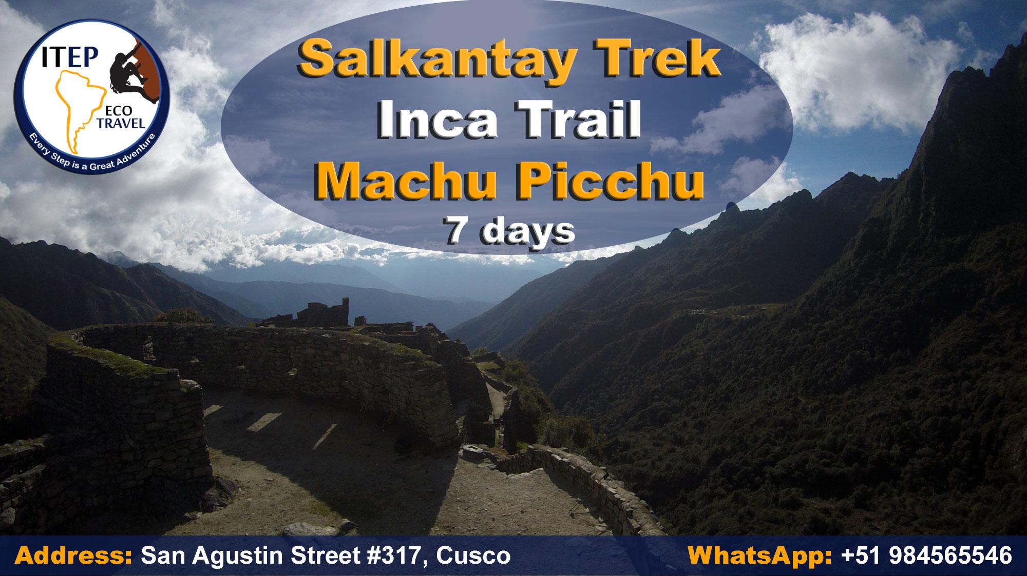salkantay trek,inca trail,machu picchu,adventure,trek