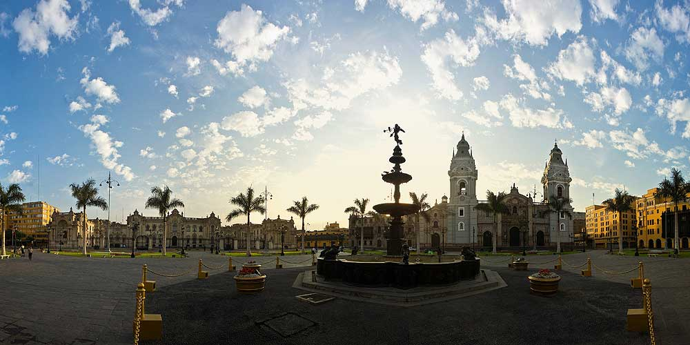 Plaza Mayor of Lima