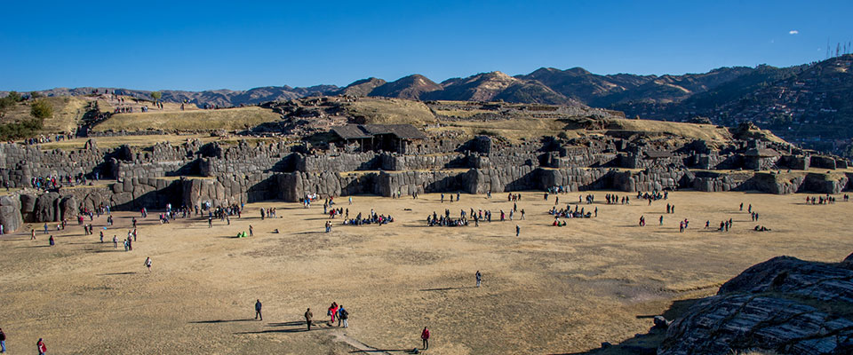 Cusco and Inca Trail 7 days - Day 2: The Fortress of Sacsaywaman - Cusco
