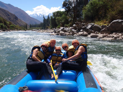 Inca Jungle - Rafting